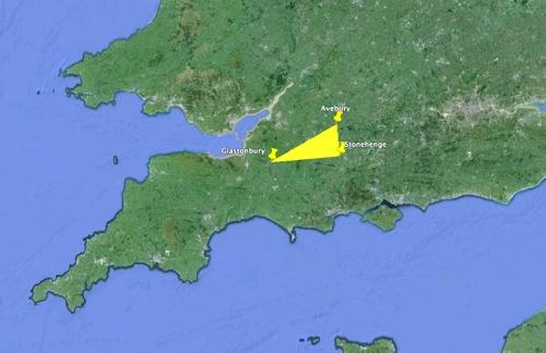 La zona de trabajo escogida fue Aveburyhenge, Glastonbury y Stonehenge
