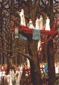 Druidas y el culto al roble