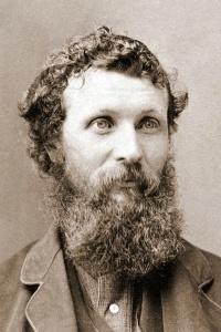 Retrato de John Muir
