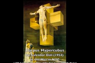 Simbología del Hipercubo en un cuadro de Dalí