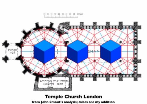Iglesia del Temple de Londres