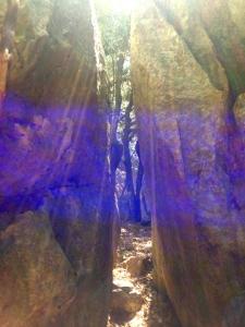 En el lucus se encuentran lugares de gran poder, como este portal hacia la ciudad intraterrena de Andromedanos