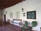 Placas conmemorativas ebn la casa museo de Serra